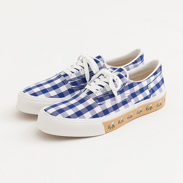 HM7 GINGHAM DECK SHOES