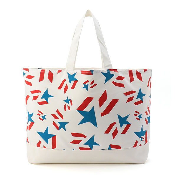 Star Print Tote Bag