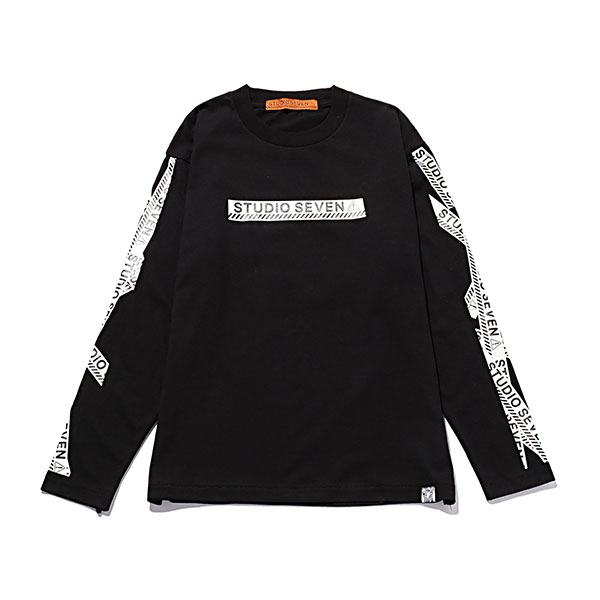 Caution LS Tee Monotone