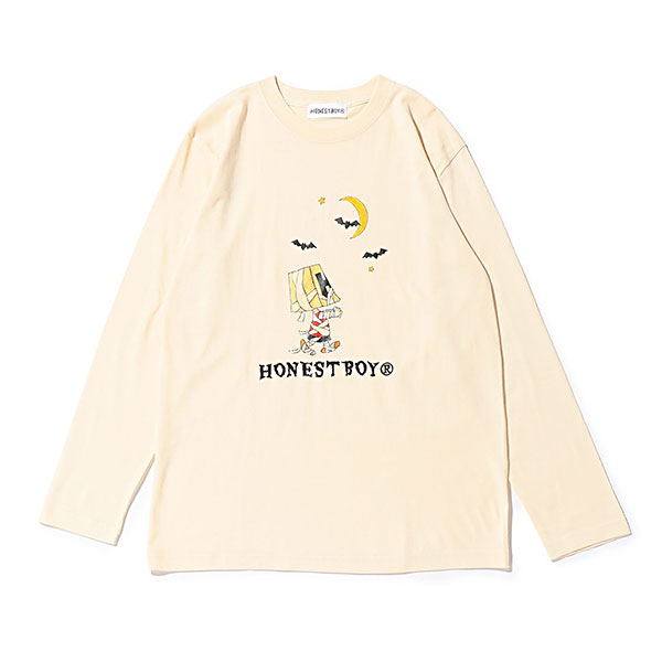 sKetChboOok3 × HONESTBOY LS Tee