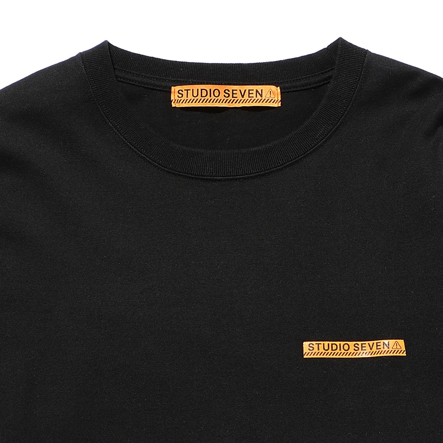 Caution LS Tee 詳細画像 Black 2