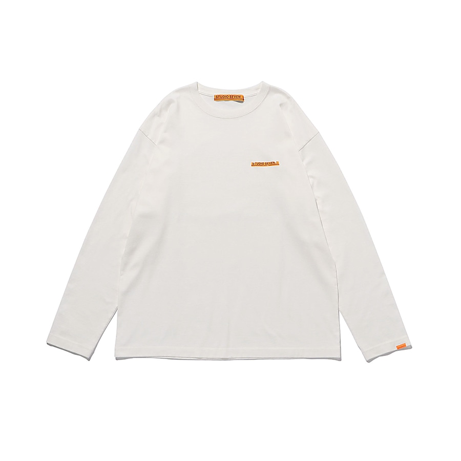Caution LS Tee 詳細画像 White 1
