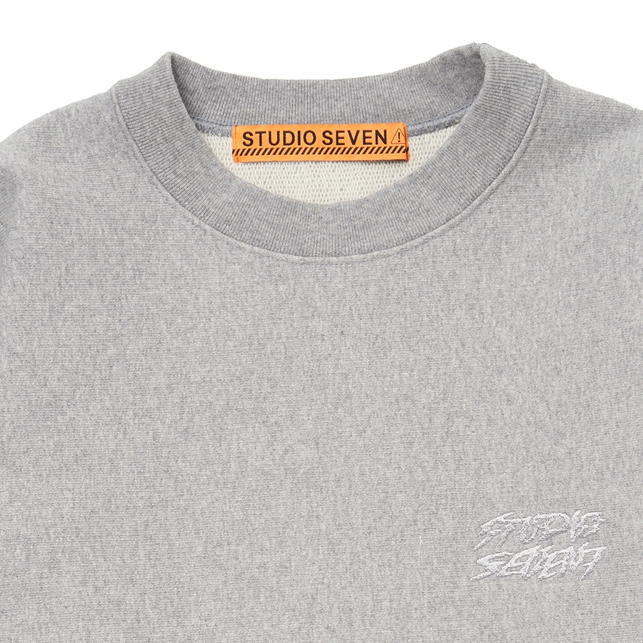 Side Camo Panel Sweat Shirt 詳細画像 H.Grey 4