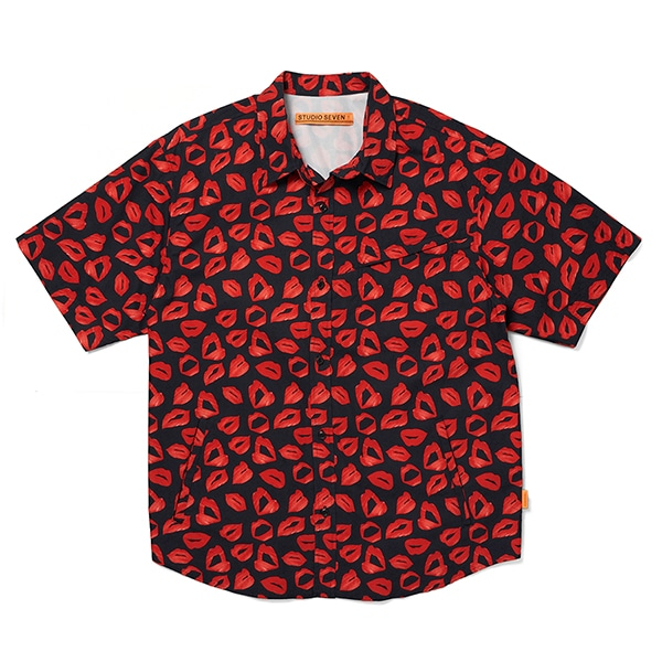 Lip Pattern Shirt