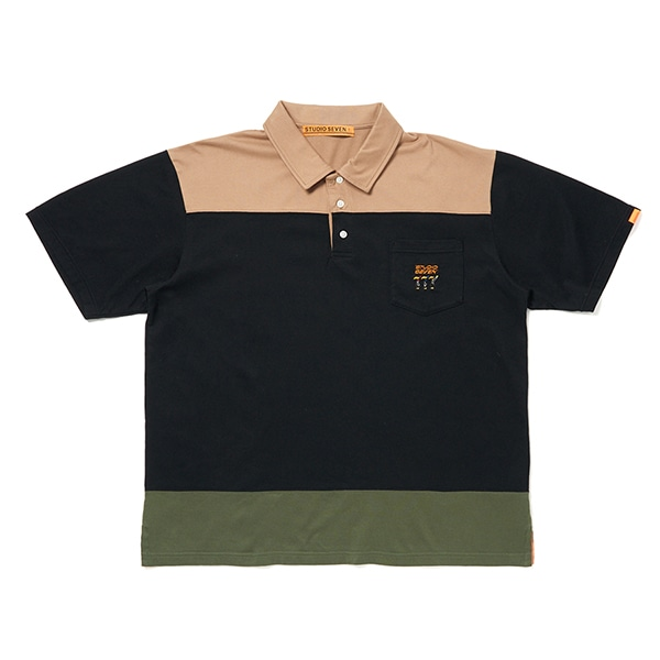 Block Color Polo Shirt