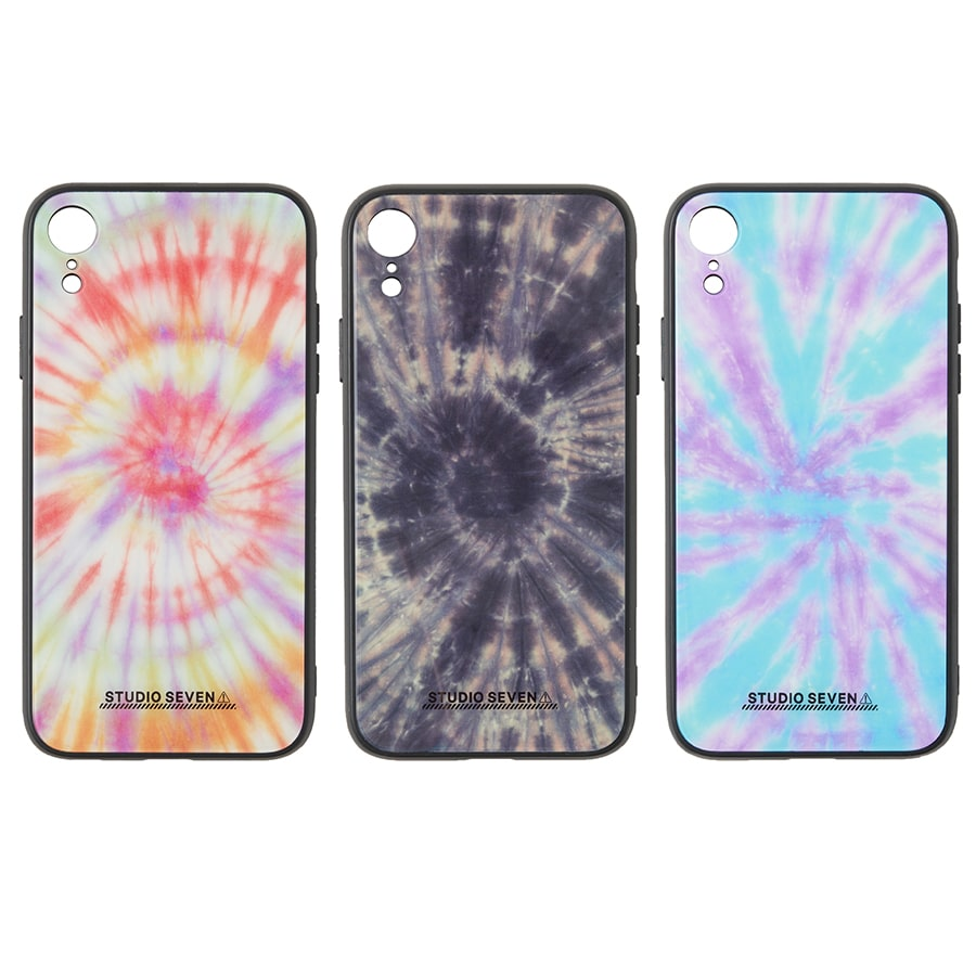 Tie-dye iPhone Case XR 詳細画像 Blue 4