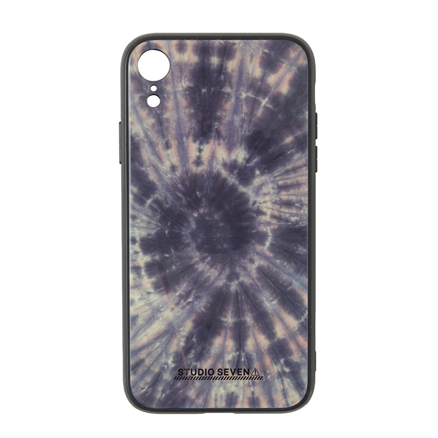 Tie-dye iPhone Case XR 詳細画像 Black 1