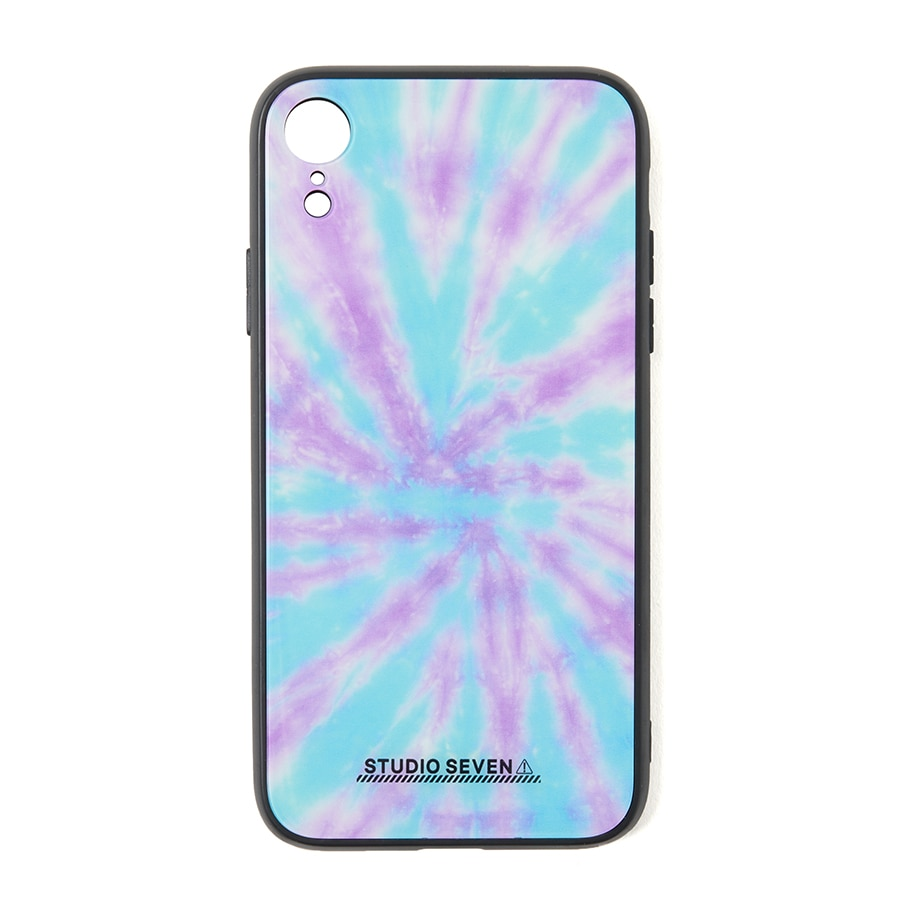 Tie-dye iPhone Case XR 詳細画像 Blue 1