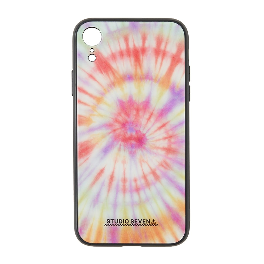 Tie-dye iPhone Case XR 詳細画像 Orange 1