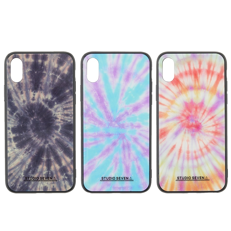 Tie-dye iPhone Case X/XS 詳細画像 Orange 4