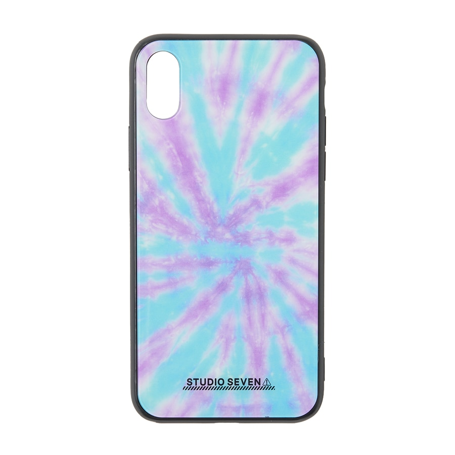 Tie-dye iPhone Case X/XS 詳細画像 Blue 1