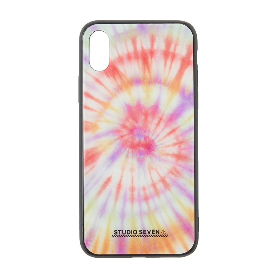 Tie-dye iPhone Case X/XS 詳細画像 Orange 1
