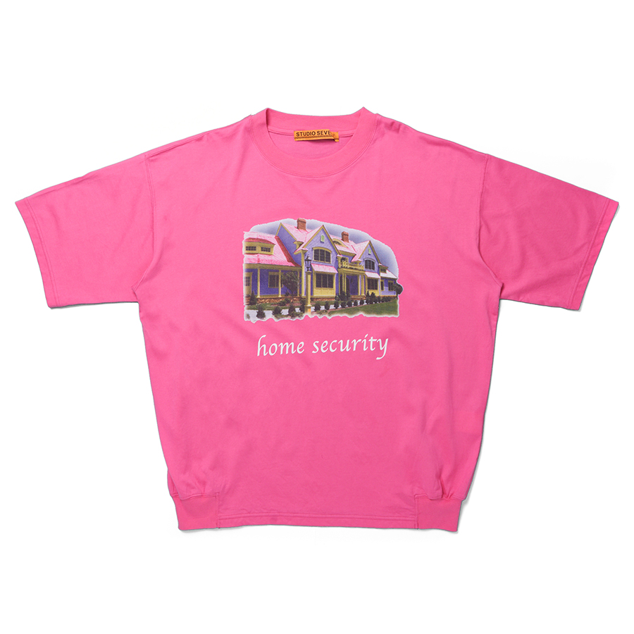 Home Security Tee 詳細画像 Pink 1