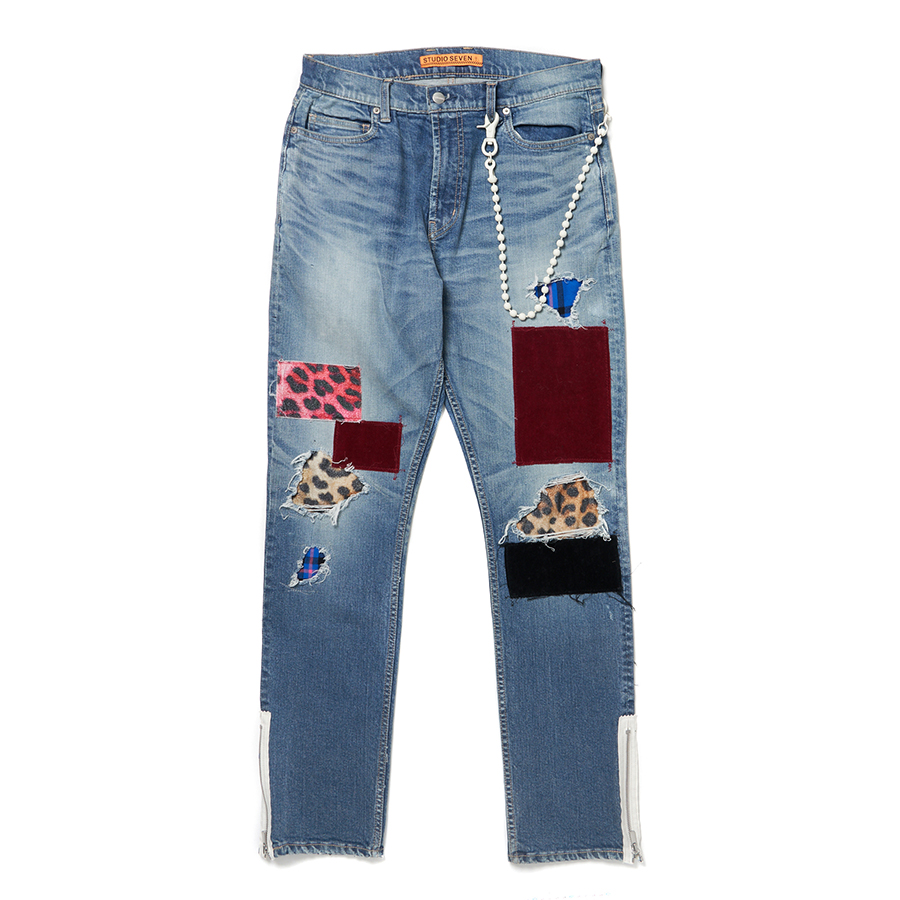 Repair Denim Pants 詳細画像 Indigo 1