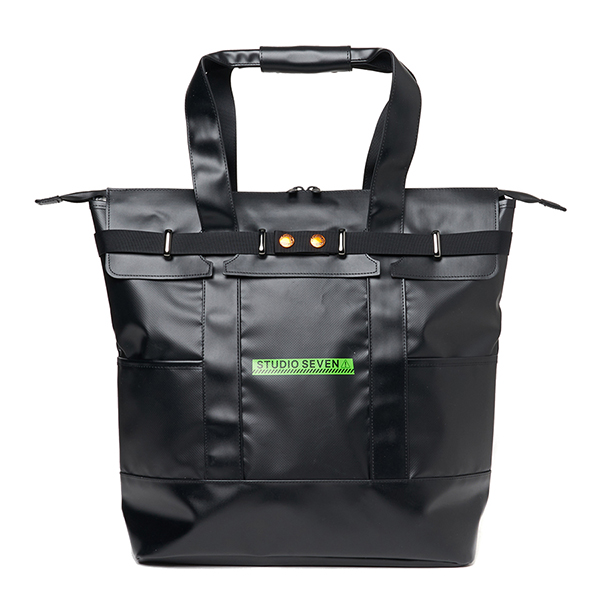 Green Caution 2Way Tote Bag