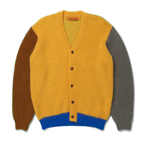Mohair Multi Color Cardigan