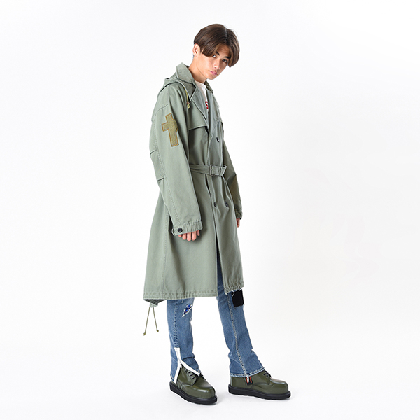 Front Trench Mods Coat 詳細画像