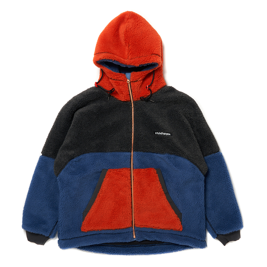 Switching Boa Hood Jacket 詳細画像 Multi 1