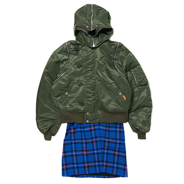 Layered N2-B Jacket