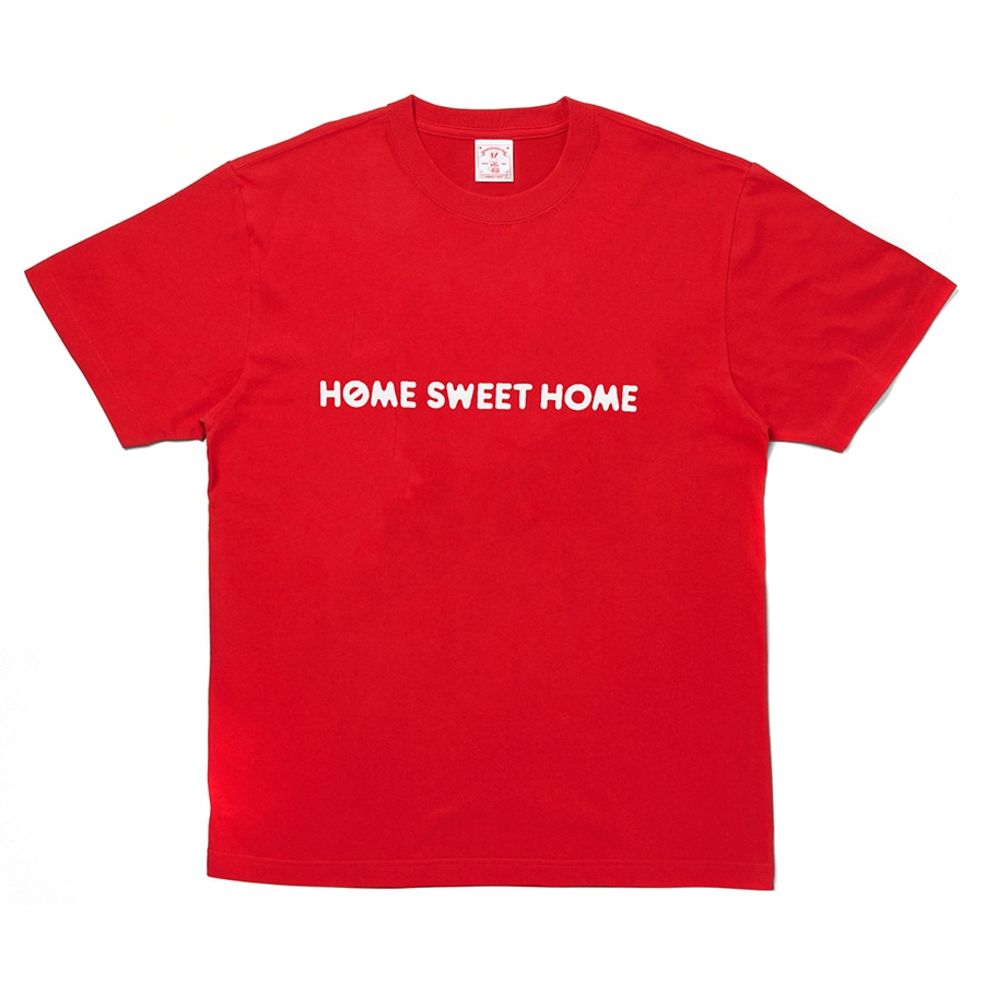 HOME SWEET HOME Rabbit Tee 詳細画像 Red 2