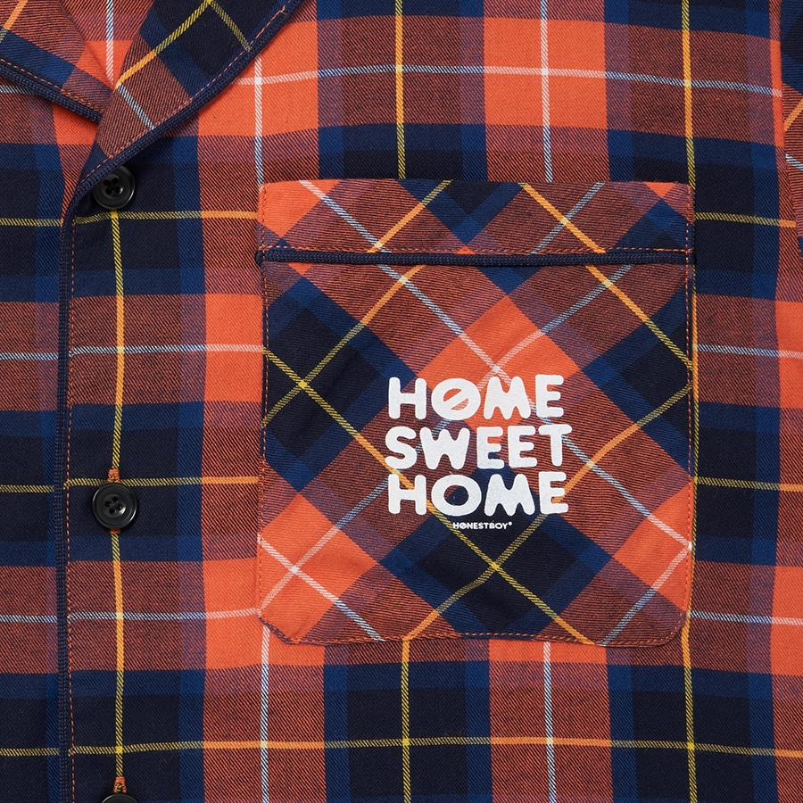 HOME SWEET HOME Pajamas 詳細画像 Red 6