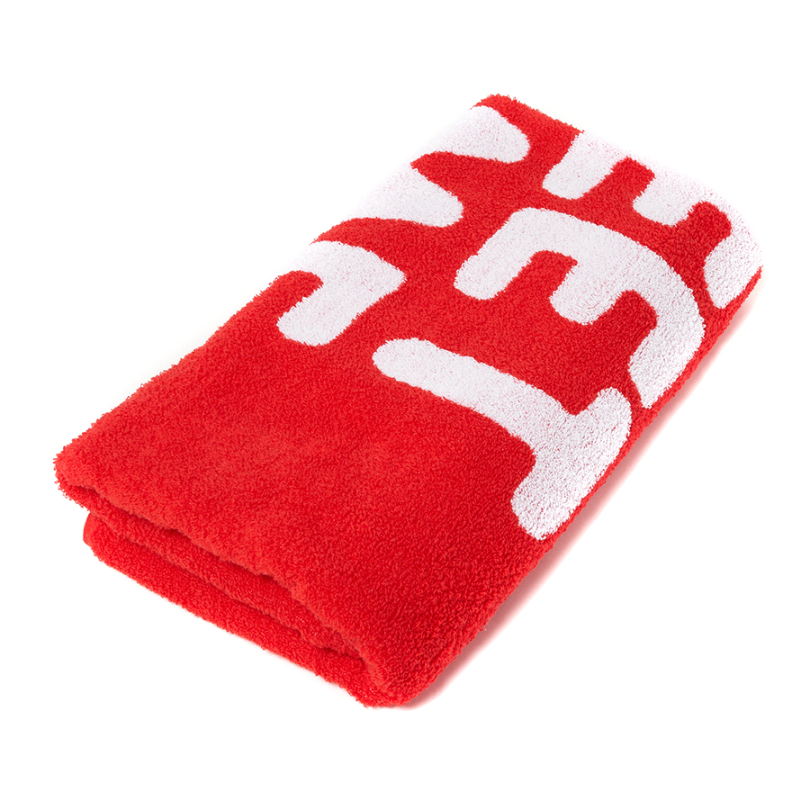 HOME SWEET HOME Towel 詳細画像 Red 2