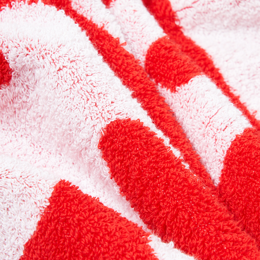 HOME SWEET HOME Towel 詳細画像 Red 4
