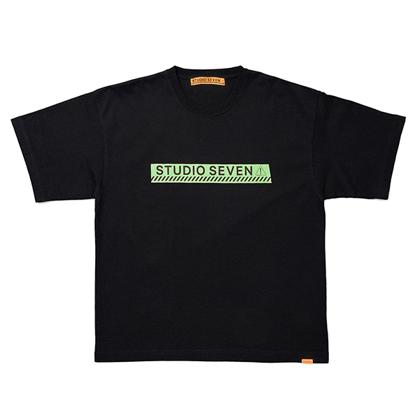 Green Caution SS Tee