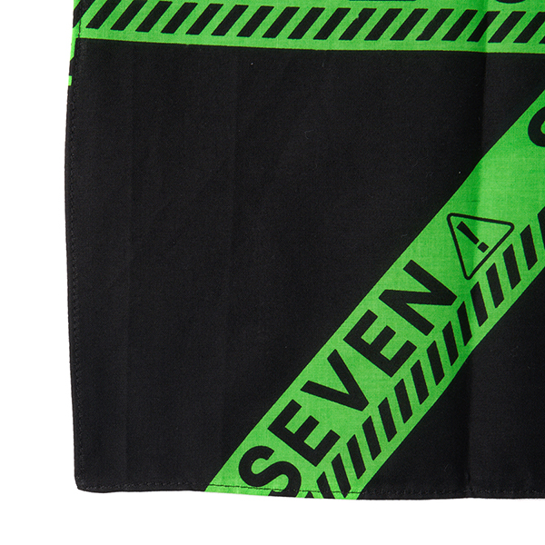 Full Green Caution Bandana 詳細画像
