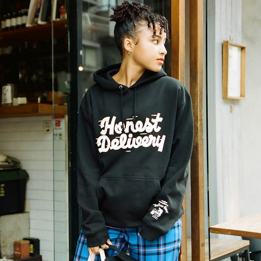 HONEST DELIVERY Better Fast Hoodie 詳細画像 Black 7