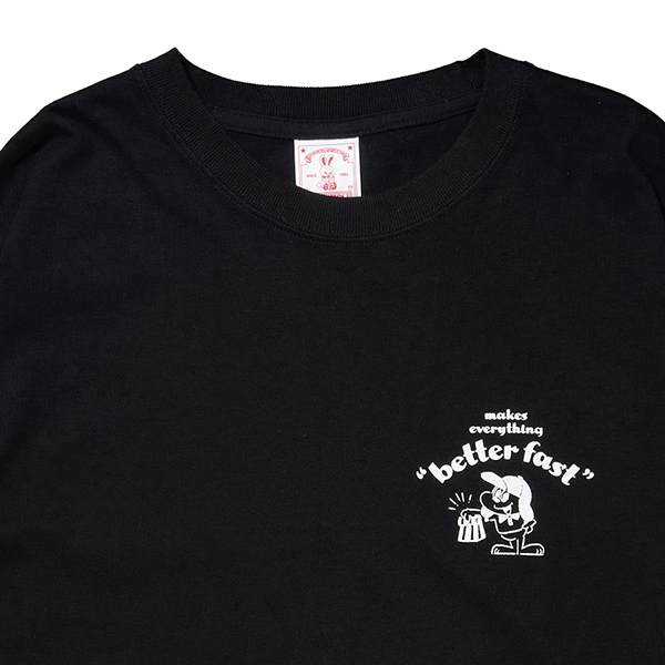HONEST DELIVERY Better Fast LS Tee 詳細画像