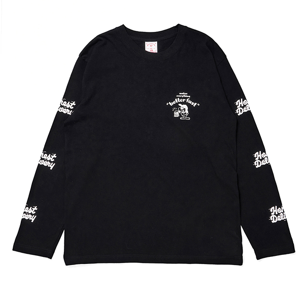 HONEST DELIVERY Better Fast LS Tee