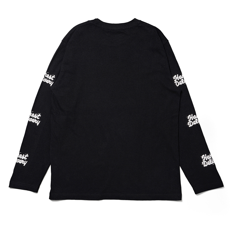 HONEST DELIVERY Better Fast LS Tee 詳細画像 Black 1