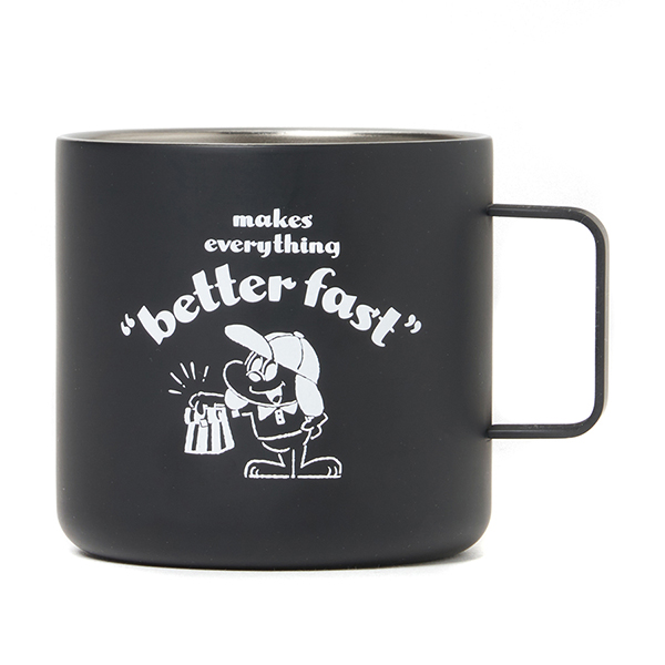 HONEST DELIVERY Better Fast  Stainless-steel Mug Cup
