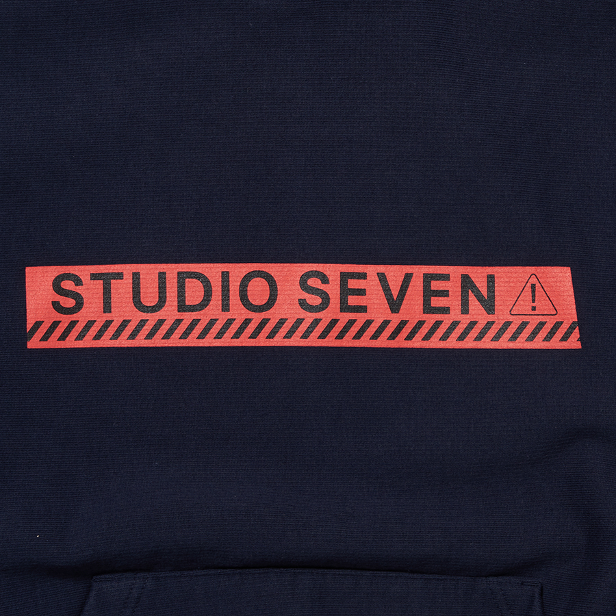 Midnight Caution Hoodie 詳細画像 Navy 3