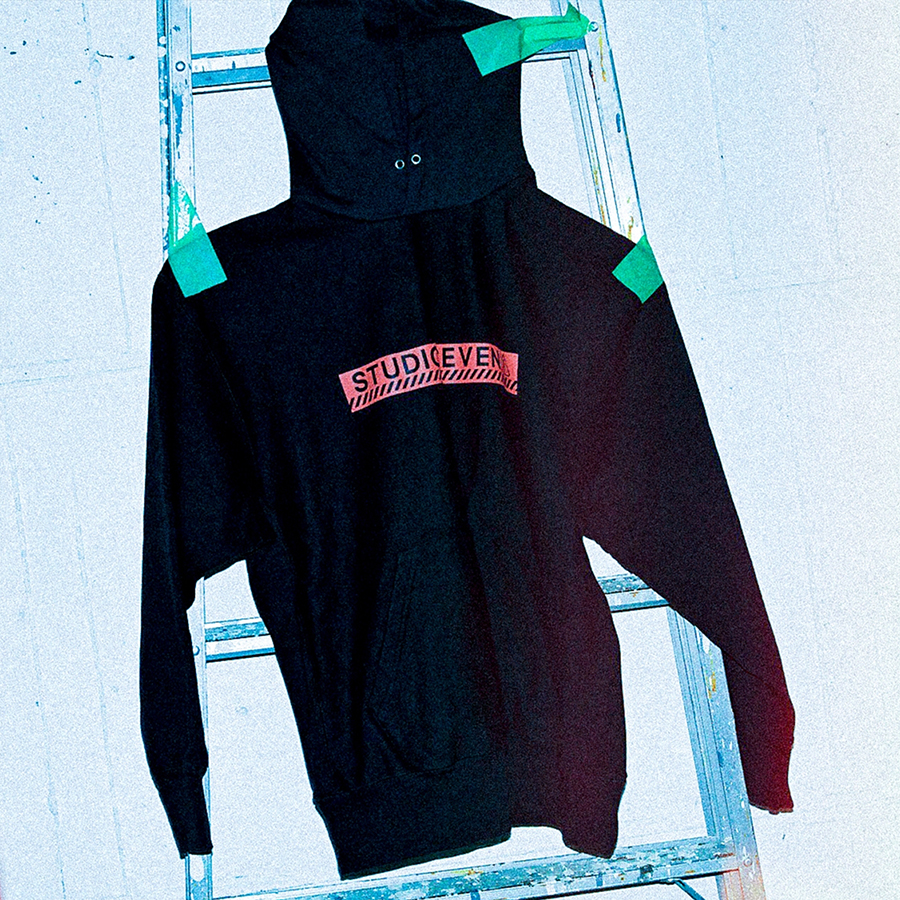 Midnight Caution Hoodie 詳細画像 Navy 6