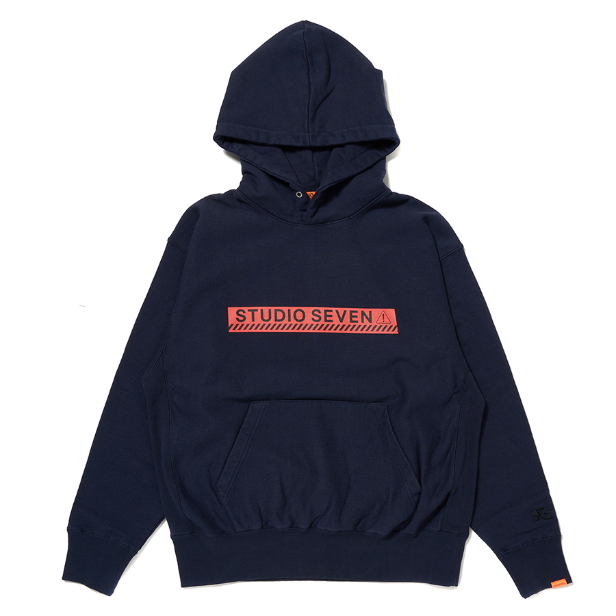 Midnight Caution Hoodie 詳細画像 Navy 1