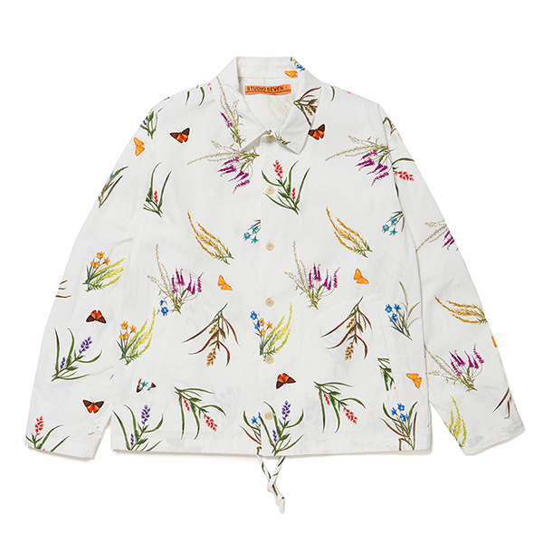 Botanical Shirt Jacket
