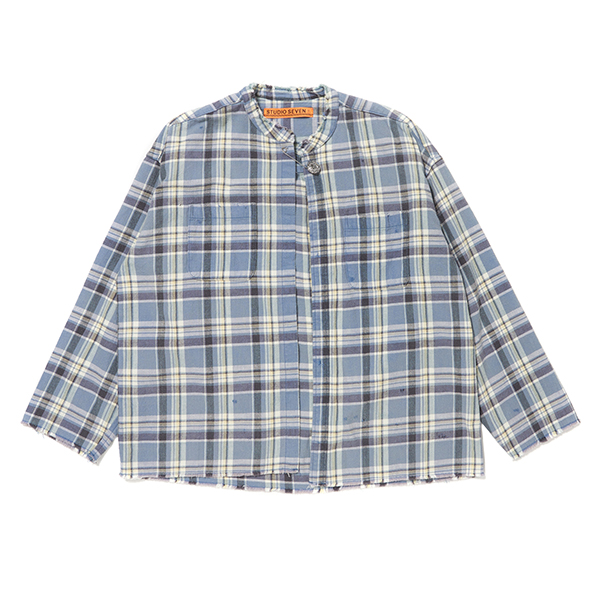 Cut Off Flannel Shirt