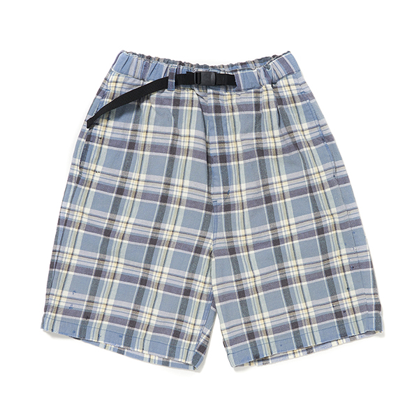 Check Flannel Shorts