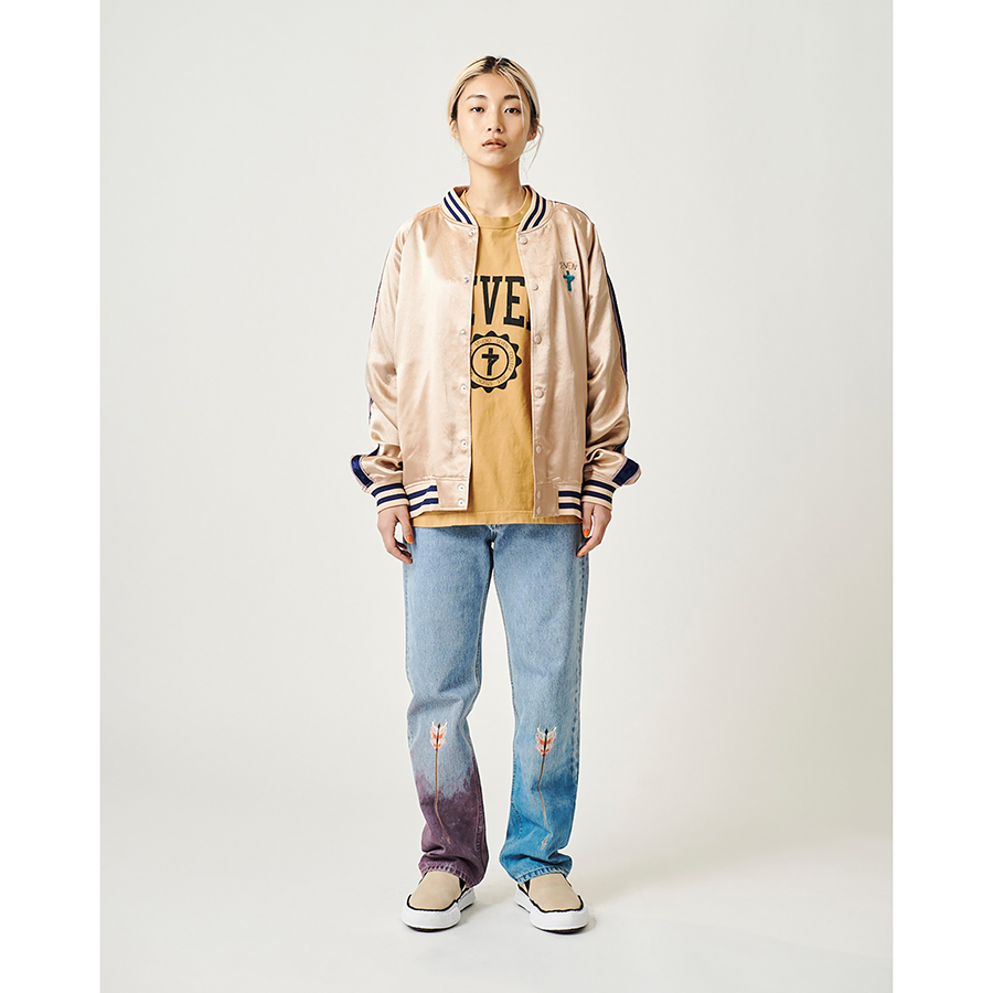 7Cross EMB Jacket 詳細画像 Camel 2