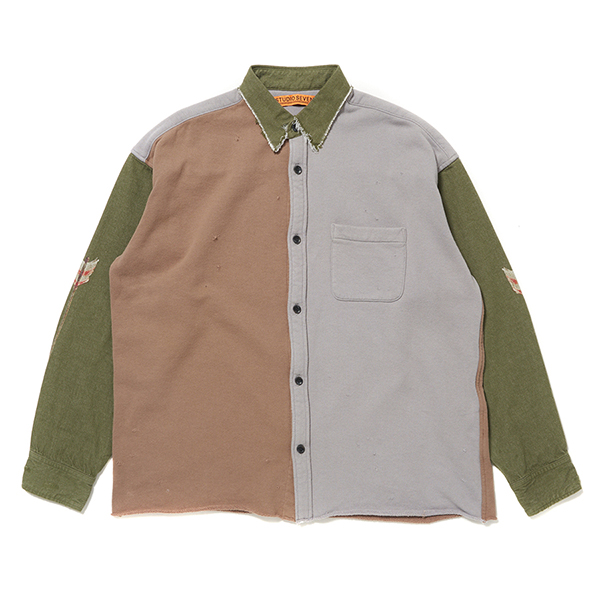 French Terry Docking Shirt