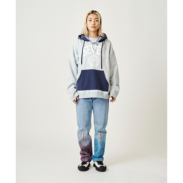 Cut-Off Overdyed Hoodie 詳細画像