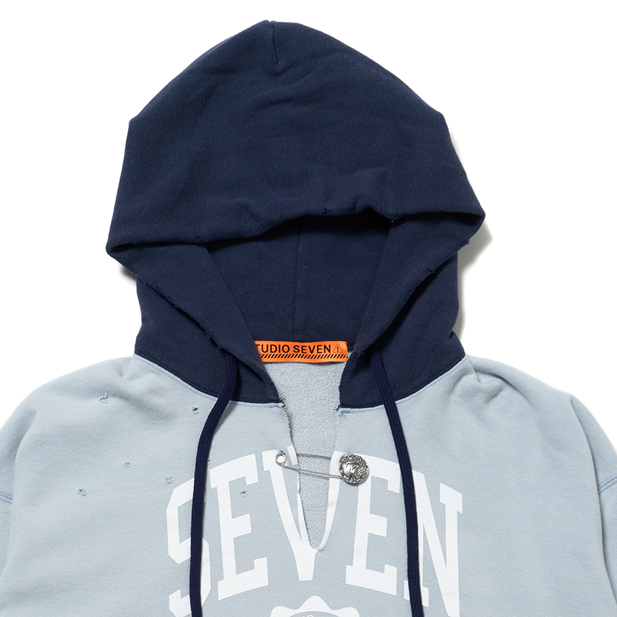 Cut-Off Overdyed Hoodie 詳細画像 Grey 6