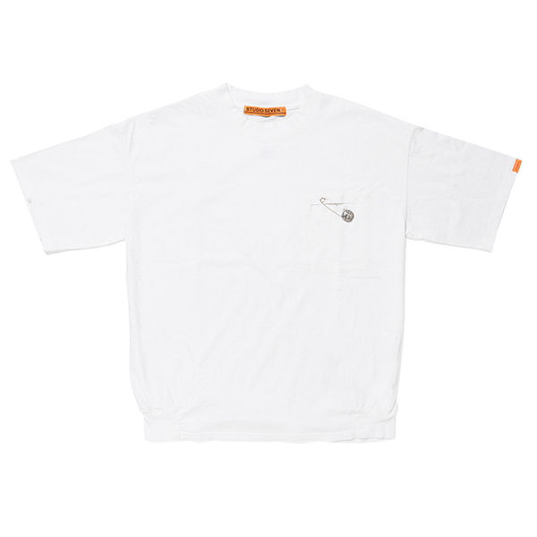 Cut Pocket SS Tee