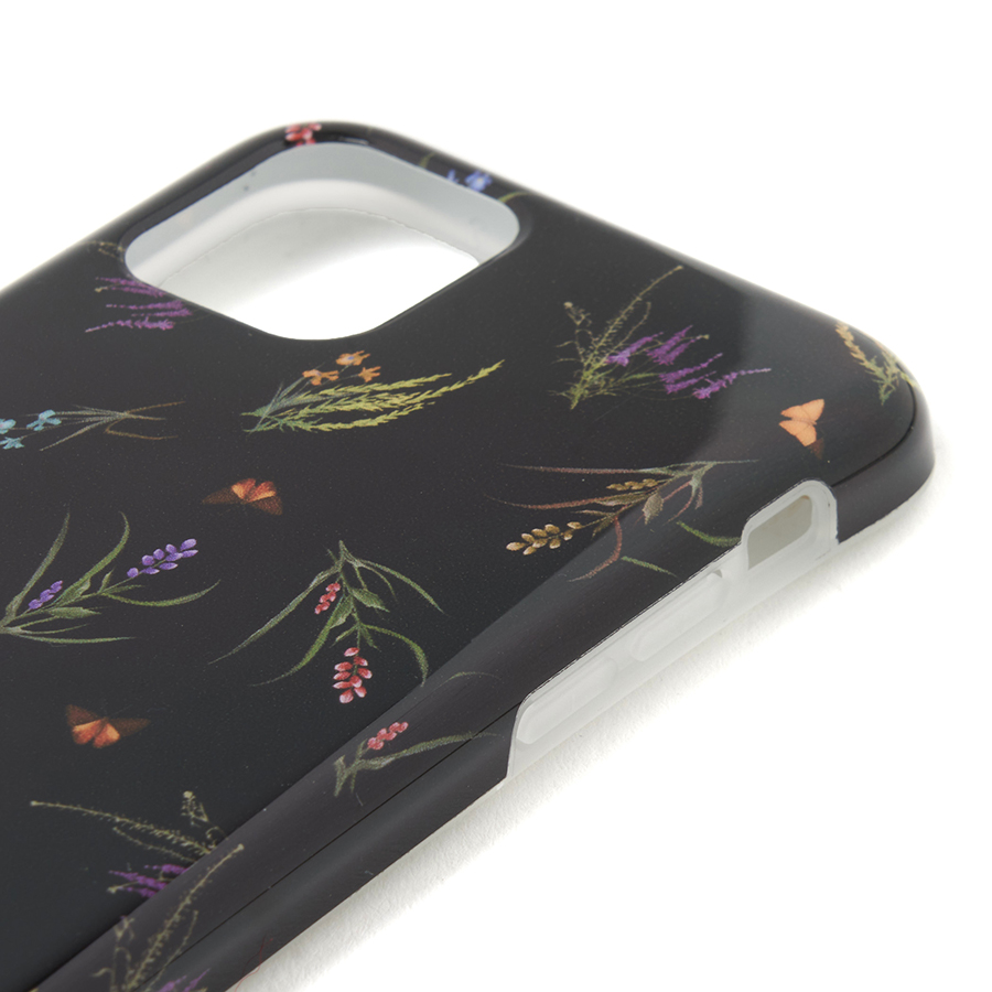 Botanical iPhone Case 11pro 詳細画像 Black 4