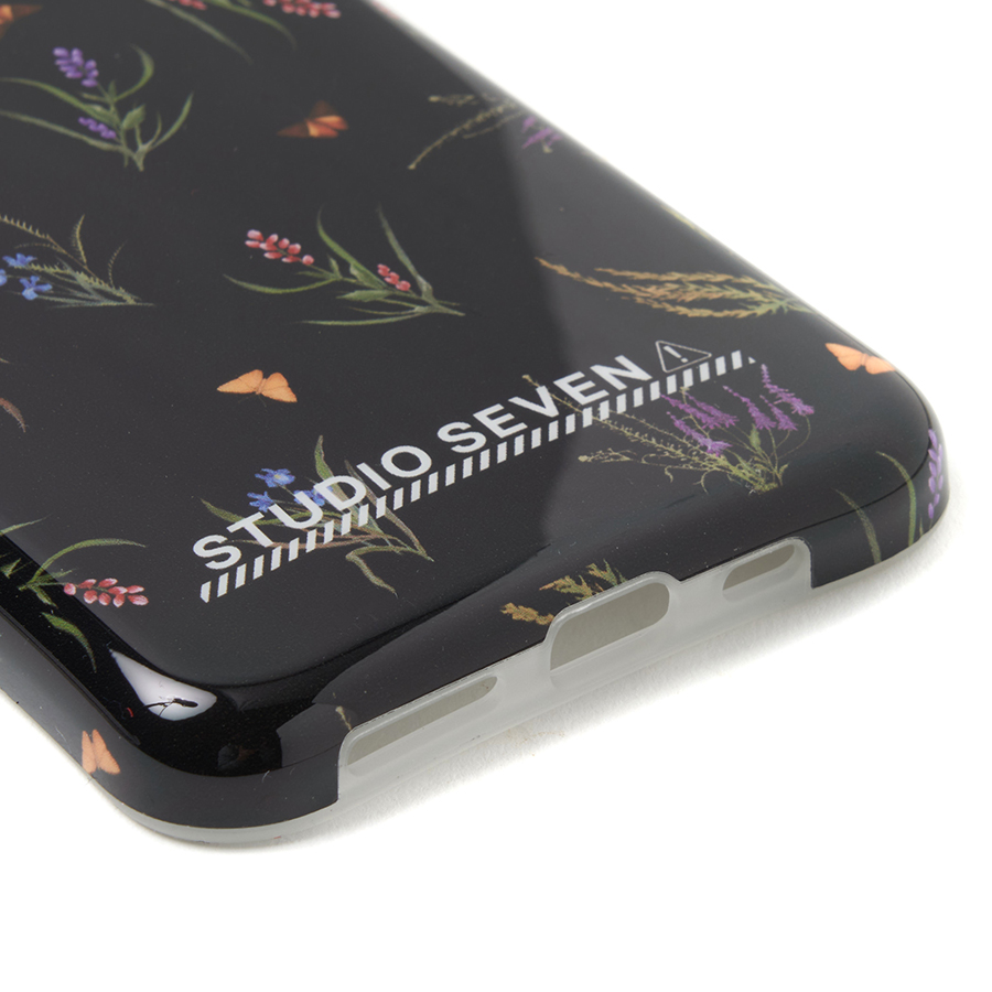 Botanical iPhone Case 11pro 詳細画像 Black 5