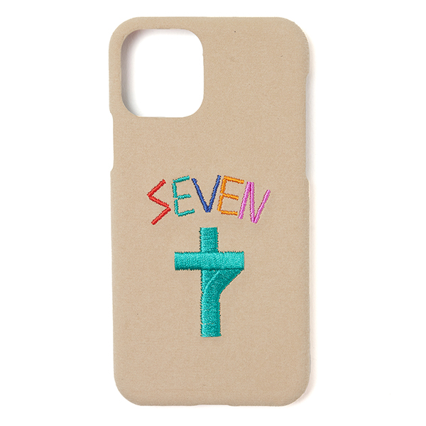 Faux Suede EMB iPhone Case 11pro