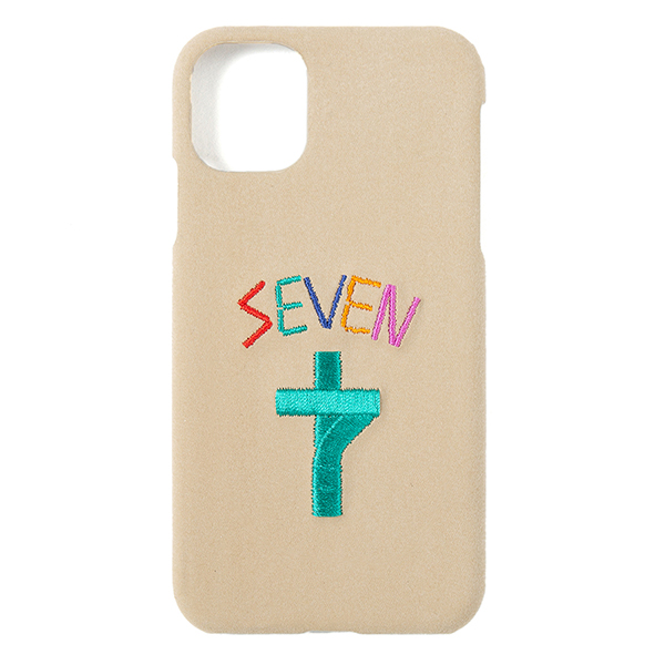 Faux Suede EMB iPhone Case 11