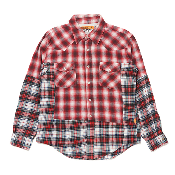 Custom Remake Shirt (Red Check)